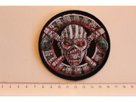 IRON MAIDEN - THE BOOK OF SOULS ( BLACK BORDER ) WOVEN 2