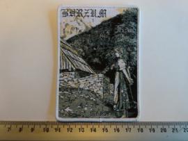 BURZUM - HISTORIC ( WHITE BORDER ) WOVEN