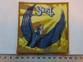 GHOST - FROM THE PINNACLE TO THE PIT ( BROWN BORDER ) WOVEN