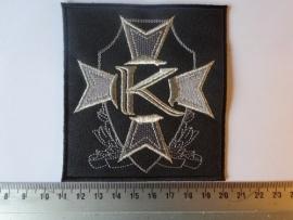 KAMELOT - K ( SILVER LOGO )