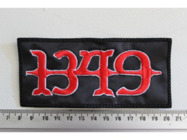 1349 - RED/WHITE NAME LOGO