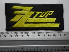 ZZ TOP - YELLOW LOGO