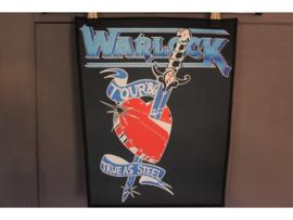 WARLOCK - TRUE AS STEEL ( TOUR '86 )