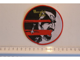 MERCYFUL FATE - MELISSA ( RED BORDER ) WOVEN CIRCLED