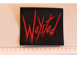 WAYSTED - RED NAME LOGO