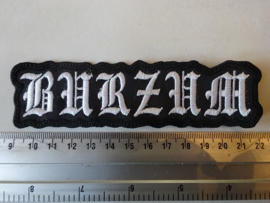 BURZUM - WHITE LOGO ( SHAPED ) DIFFERENT