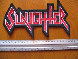 SLAUGHTER - RED/WHITE LOGO