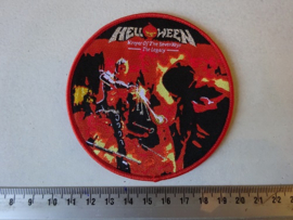 HELLOWEEN - KEEPER OF THE SEVEN KEYS ( THE LEGACY ) WOVEN