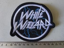 WHITE WIZZARD - WHITE /GREY LOGO