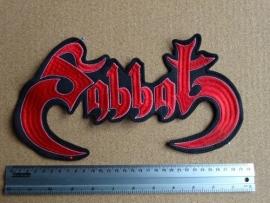 SABBAT  - RED LOGO ( JAPAN )
