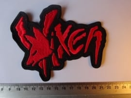 VIXEN - RED LOGO + FOX