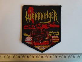 WARBRINGER - WAR WITHOUT END ( BLACK BORDER ) WOVEN