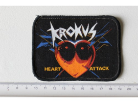 KROKUS - HEART ATTACK ( ORIGINAL 1988 ) PRINT