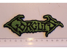 GORGUTS - BLACK/GREEN NAME LOGO