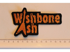 WISHBONE ASH - ORANGE NAME LOGO