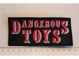DANGEROUS TOYS - RED/WHITE NAME LOGO