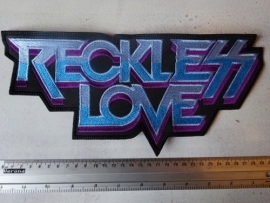 RECKLESS LOVE - BLUE/PURPLE LOGO