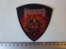 DISSECTION - REBIRTH OF MAHA KALI ( BLACK BORDER ) WOVEN