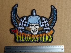 THE HELLACOPTERS - SKULL LOGO + WINGS