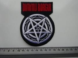 DIMMU BORGIR - RED LOGO + PENTAGRAM