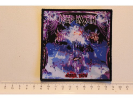 ICED EARTH - HORROR SHOW  ( BLACK BORDER ) WOVEN DIFFERENT