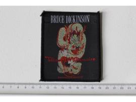 BRUCE DICKINSON - TATTOOED MILLIONAIRE ( ORIGINAL 1990 ) WOVEN