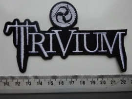 TRIVIUM - WHITE NAME + LOGO