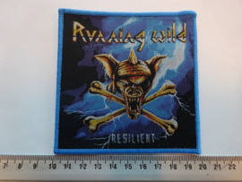 RUNNING WILD - RESILIENT ( BLUE BORDER ) WOVEN