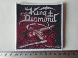 KING DIAMOND - PUPPET MASTER WHITE BORDER