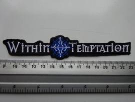 WITHIN TEMPTATION - WHITE/BLUE LOGO