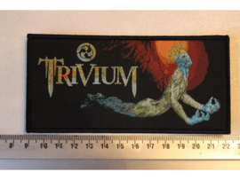 TRIVIUM - ASCENDENCY ( BLACK BORDER ) WOVEN