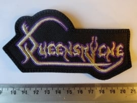 QUEENSRYCHE - OLD LOGO ( PURPLE/YELLOW )