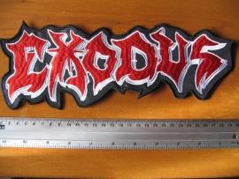 EXODUS - RED/WHITE LOGO