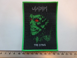 W.A.S.P. - THE STING ( GREEN BORDER ) WOVEN