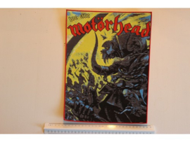 MOTORHEAD - WE ARE.... ( RED BORDER ) WOVEN