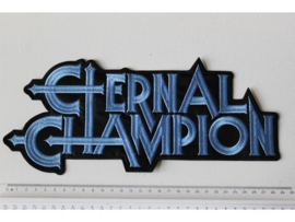 ETERNAL CHAMPION - BLUE NAME LOGO