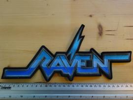 RAVEN - BLUE NAME LOGO