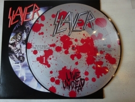 SLAYER - LIVE UNDEAD ( SILVER PLATED PICTURE DISC )