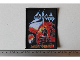 SODOM - AGENT ORANGE ( BLACK BORDER ) WOVEN