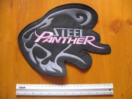 STEEL PANTHER - GREY/PINK LOGO
