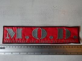 M.O.D. - GREY LOGO
