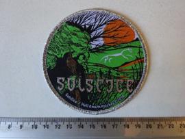 SOLSTICE - SOLSTICE ( SILVER BORDER )