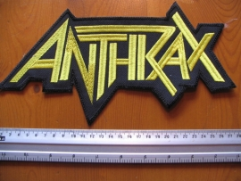 ANTHRAX - YELLOW LOGO