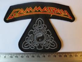 GAMMARAY - RED/YELLOW LOGO + GREY SYMBOL