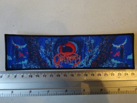 OBITUARY - CAUSE OF DEATH STRIPE BLACK BORDER ( LIMITED RARE NUMBERED )