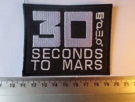 30 SECONDS TO MARS - WHITE LOGO