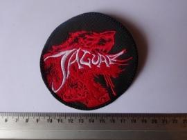 JAGUAR - WHITE LOGO + RED BEAST