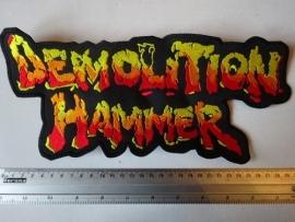 DEMOLITION HAMMER - YELLOW/RED LOGO