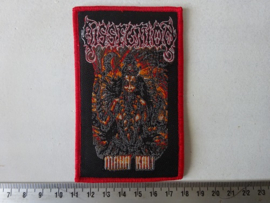 DISSECTION - MAHA KALI ( RED BORDER ) WOVEN