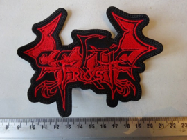 CELTIC FROST - ( RED SHAPED DRAGON LOGO )